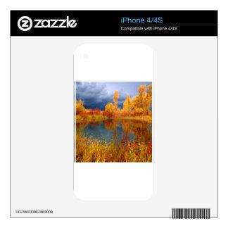 Lake Peggys Pond iPhone 4S Skin