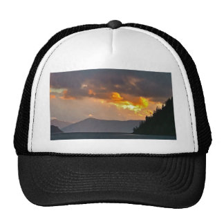 Lake Pend Oreille Storm Clouds Trucker Hats