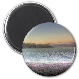 Lake Penninsula 2 Inch Round Magnet