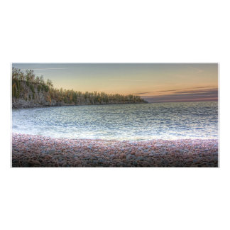 Lake Penninsula Personalized Photo Card
