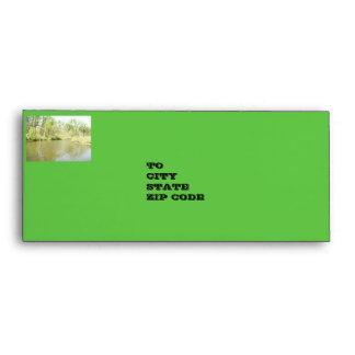 Lake Penny Spring 2010, Envelope