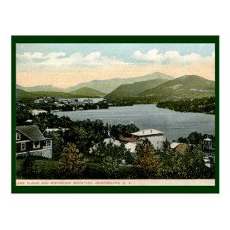Lake Placid, Adirondacks, NY 1917 Vintage Postcard