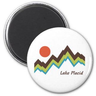 Lake Placid Imán Redondo 5 Cm