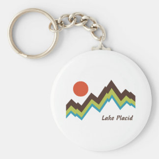 Lake Placid Keychain