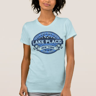 Lake Placid Logo Blue Tees