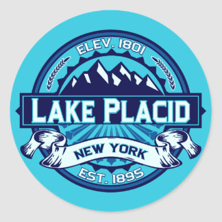 Lake Placid Logo Stickers