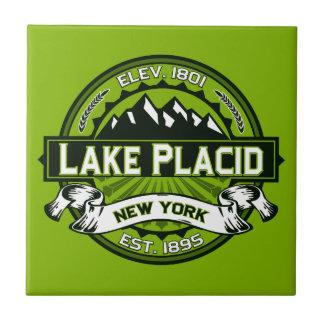 Lake Placid Logo Tile