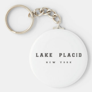 Lake Placid New York Keychain