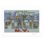 Lake Placid, Nueva York - escenas grandes de la le Postal