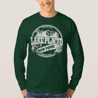 Lake Placid Old Circle White T Shirt
