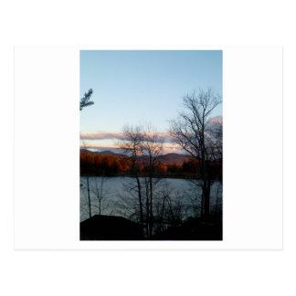Lake Placid view Postcard