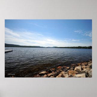 Lake Pleasant in the Adirondack. print 08 056