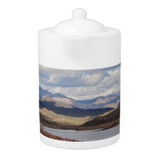 Lake Pleasant Landscape Tea Pot