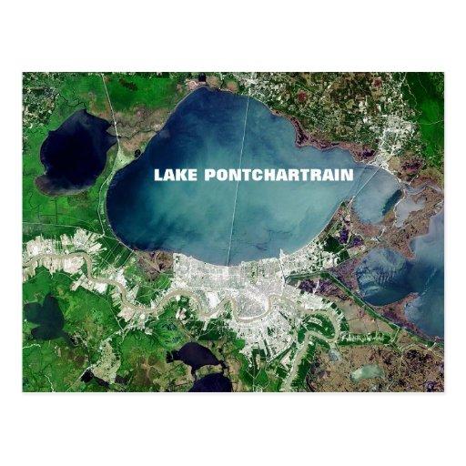 Lake Pontchartrain Postcard