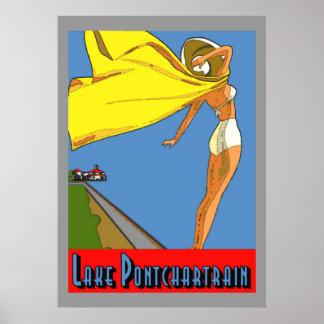Lake Pontchartrain Poster