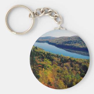 Lake Porcupine Mountains Key Chains