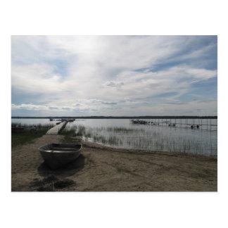 lake post card