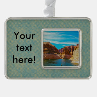Lake Powell, Arizona Silver Plated Framed Ornament