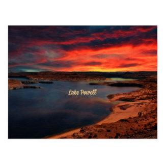 Lake Powell, Arizona Postcard
