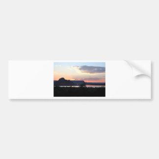 Lake Powell at sunset, Arizona, USA Bumper Sticker