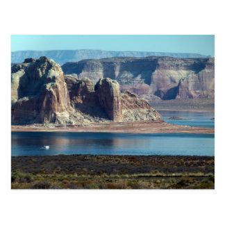 Lake Powell beautiful scenery Postcard