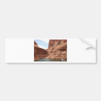 Lake Powell & boat, Arizona, USA 1 Bumper Sticker
