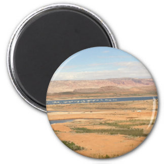Lake Powell - Bullfrog 2 Inch Round Magnet