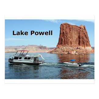 Lake Powell (caption) Postcard