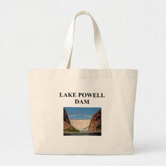 lake powell dam canvas bag