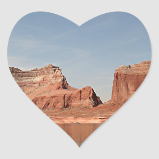 Lake Powell, Glen Canyon, Arizona, USA 1 Heart Sticker
