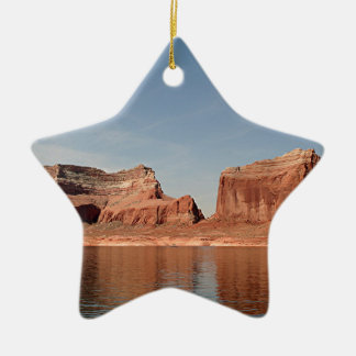 Lake Powell, Glen Canyon, Arizona, USA 1 Double-Sided Star Ceramic Christmas Ornament