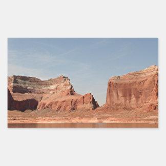 Lake Powell, Glen Canyon, Arizona, USA 1 Rectangular Sticker