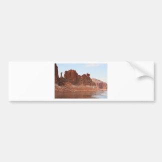 Lake Powell Glen Canyon Arizona USA 2 Bumper Sticker
