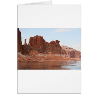 Lake Powell, Glen Canyon, Arizona, USA 2 Card