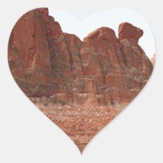 Lake Powell, Glen Canyon, Arizona, USA 2 Heart Sticker