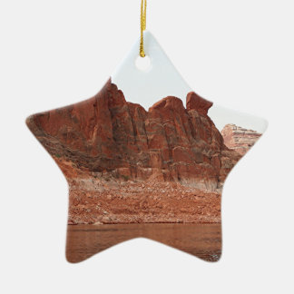 Lake Powell, Glen Canyon, Arizona, USA 2 Double-Sided Star Ceramic Christmas Ornament