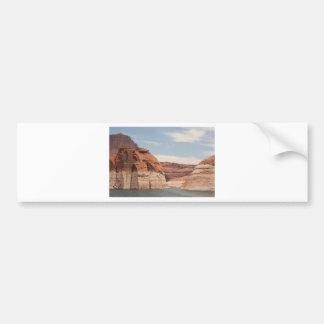 Lake Powell Glen Canyon Arizona USA 3 Bumper Stickers