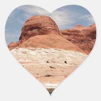 Lake Powell, Glen Canyon, Arizona, USA 4 Heart Sticker