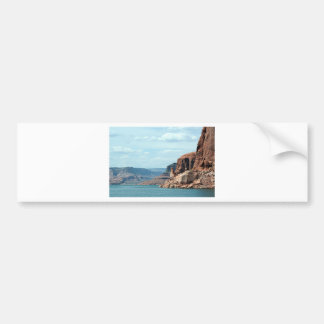 Lake Powell Glen Canyon Arizona USA 6 Bumper Stickers