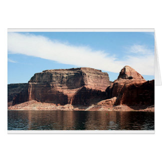 Lake Powell, Glen Canyon, Arizona, USA 7 Card