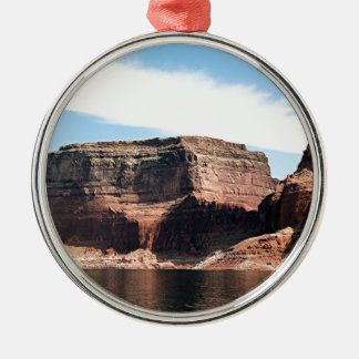 Lake Powell, Glen Canyon, Arizona, USA 7 Round Metal Christmas Ornament