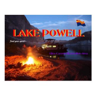 Lake Powell Glen Canyon Recreation Area Postcard