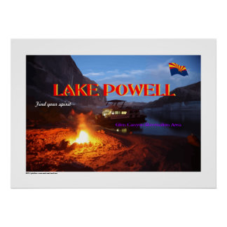 Lake Powell Glen Canyon Recreation Area Posters