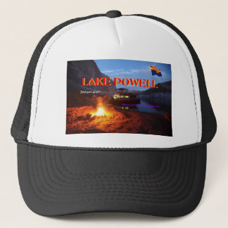 Lake Powell Glen Canyon Recreation Area Trucker Hat