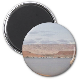 Lake Powell - Halls Crossing 2 Inch Round Magnet