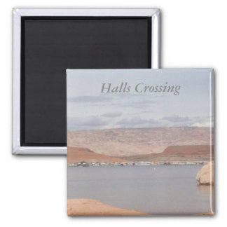 Lake Powell - Halls Crossing 2 Inch Square Magnet