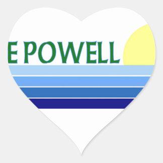 Lake Powell Heart Sticker