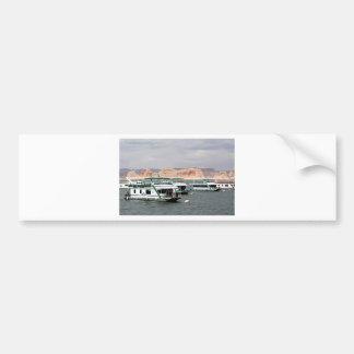 Lake Powell Houseboat, Arizona, USA 4 Bumper Sticker