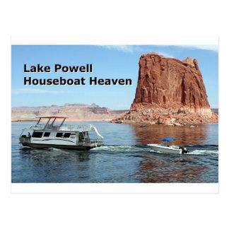 Lake Powell Houseboat Heaven, Arizona, USA Postcard