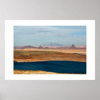 Lake Powell & Navajo Mountain Print